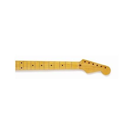 """Manche LBF Stratocaster vernis nitro touche érable radius 7-1/4"""" profil C"""
