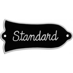 Plaque trussrod type Gibson® standard