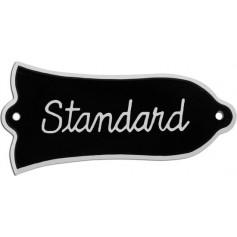 Plaque trussrod type Gibson® standard