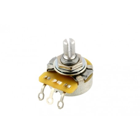 Potentiomètre guitare US CTS court Stratocaster 250k log gaucher