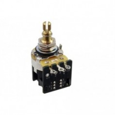 Potentiomètre guitare push pull CTS 500k log