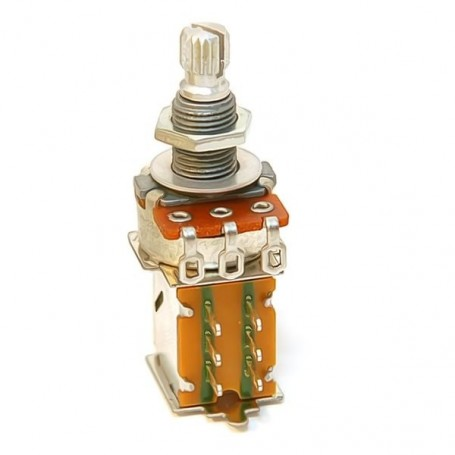 Potentiomètre guitare push pull métrique 500k log
