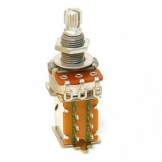Potentiomètre guitare push pull métrique 500k lin