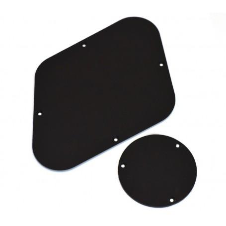 2 plaques arrière LesPaul noir (US)