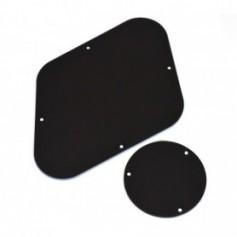 2 plaques arrière LesPaul® noir (US)