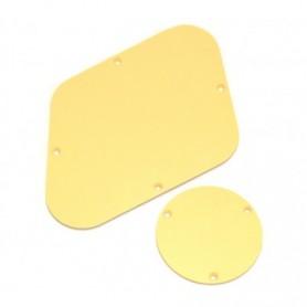 2 plaques arrière LesPaul crème (US)