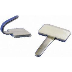 Lot 2 clips autocollants pour Archtop