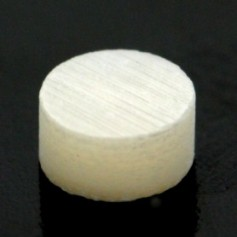 10 repères de touche en nacre diamètre 4mm