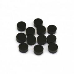 10 repères de touche diamètre 6mm noirs