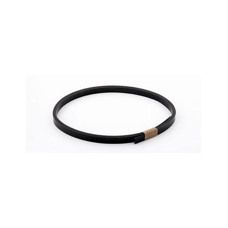 Binding noir ep 1,5mm x 8mm x 1m65
