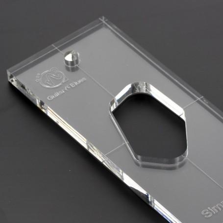 Gabarit 10mm défonce micro Telecaster chevalet