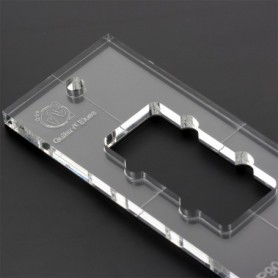 Gabarit 10mm défonce micro p90 jazzmaster