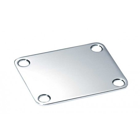 Plaque manche type Fender chrome