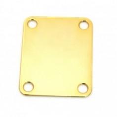 Plaque manche Type Fender doré