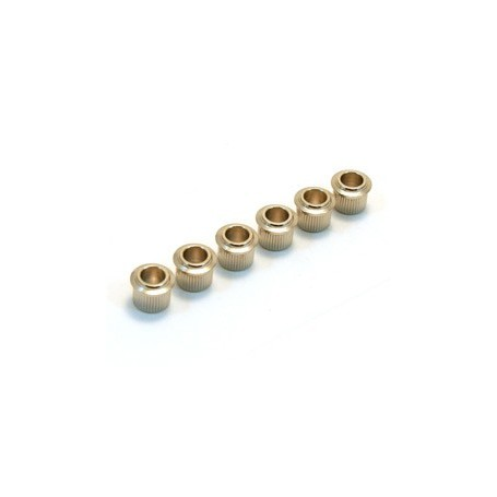 6 adaptateurs mécaniques 100 à 63,5mm nickel