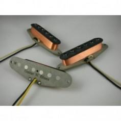 Set 3 micros Gn'B Stratocaster® blues vieux blancs
