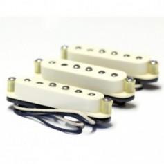 Set 3 micros Tornade MS® Stratocaster® 69's vieux blanc