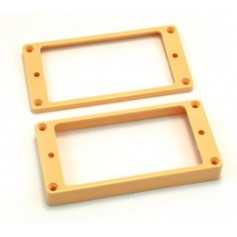 Lot 2 contours table plate LesPaul® US crème