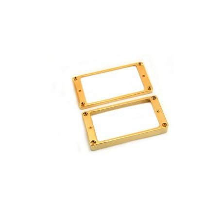 Lot 2 contours métal table bombée LesPaul US doré