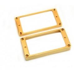 Lot 2 contours métal table bombée LesPaul® US doré