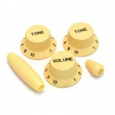Kit 5 boutons US Stratocaster® crème