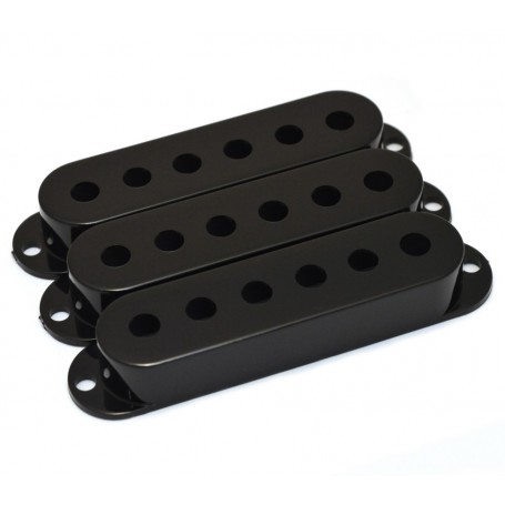 Lot 3 capots micro type Stratocaster noir