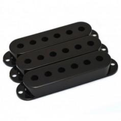 Lot 3 capots micro type Stratocaster® noir