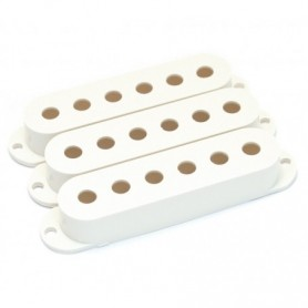 Lot 3 capots micro type Stratocaster blanc