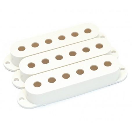 Lot 3 capots micro type Stratocaster blanc