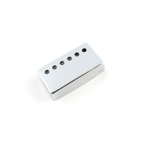 Capot humbucker silver nickel 6 trous chrome 49,2mm