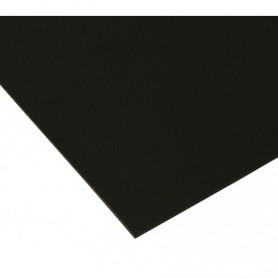 Plaque vierge à decouper 30x45cm noire 1 pli