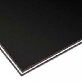 Plaque vierge à decouper 30x45cm noire 3 plis