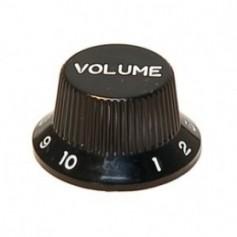 Bouton type Stratocaster® volume noir