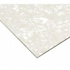 Pickguard guitare a découper 30x45cm blanc pearl 3 plis