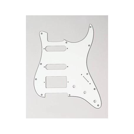 Plaque 1 micro double & 2 simples Stratocaster US vieux blanc