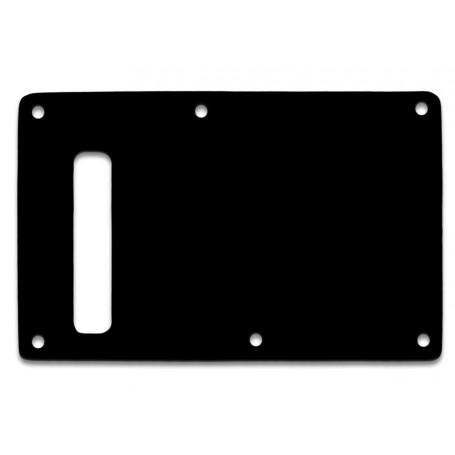 Plaque tremolo fendue Stratocaster noire