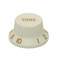 Bouton type Stratocaster® tone vieux blanc