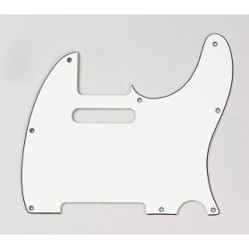 Plaque guitare Telecaster US vieux blanc