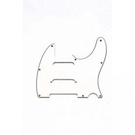 Plaque guitare Telecaster Nashville US 3 micros vieux blanc