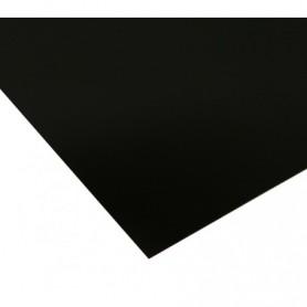 Plaque adhésive vierge 25x30cm noire