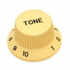 Bouton type Stratocaster® tone crème