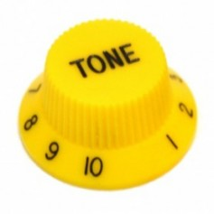 Bouton type Stratocaster® tone jaune