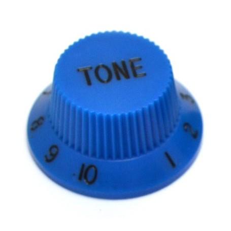 Bouton type Stratocaster tone bleu