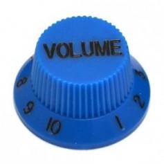 Bouton type Stratocaster® volume bleu