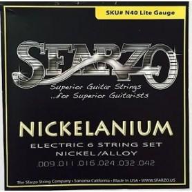Cordes guitare électrique Sfarzo Nickelanium 9-42