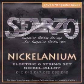 Cordes guitare électrique Sfarzo Nickelanium 10-46