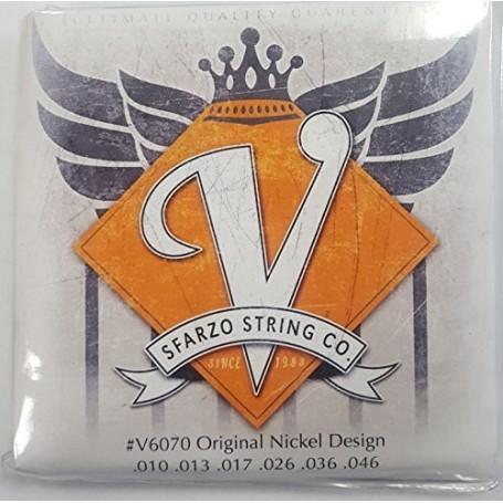 Cordes guitare électrique Sfarzo V-string 10-46