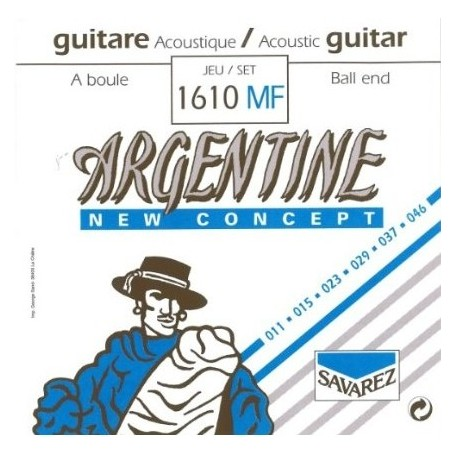 Cordes guitare manouche Argentine 1610MF boule 11-46