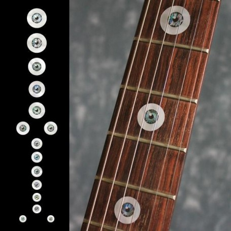 Sticker guitare touche ?il