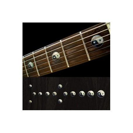 Sticker guitare touche Yin & Yang